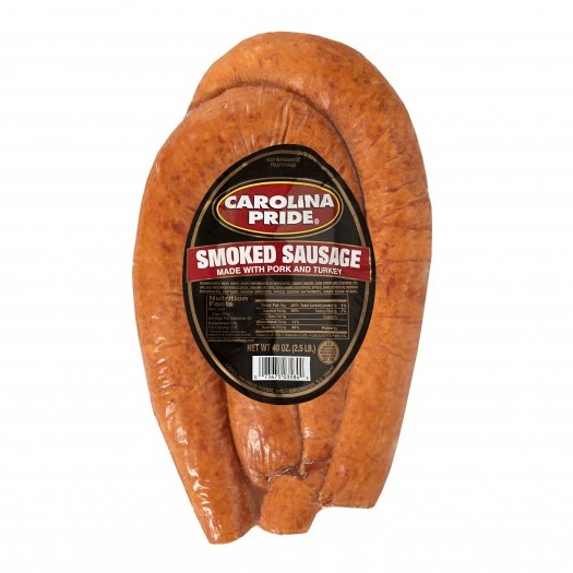 2.5 Pound Rope Smoked Sausage – 3584
