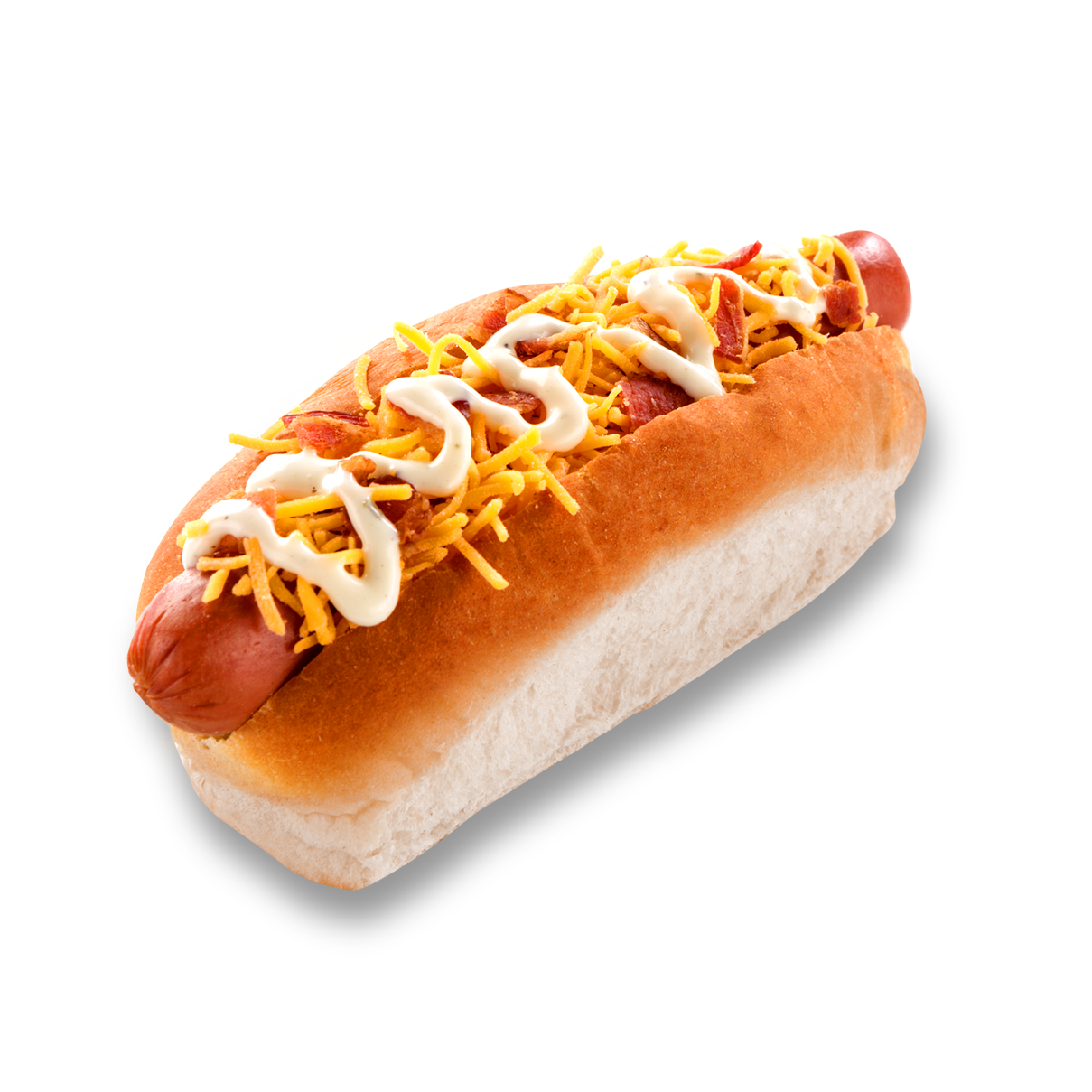 Bacon Cheddar Ranch Dog