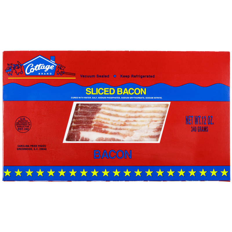 Cottage Brand Sliced Bacon – 2934