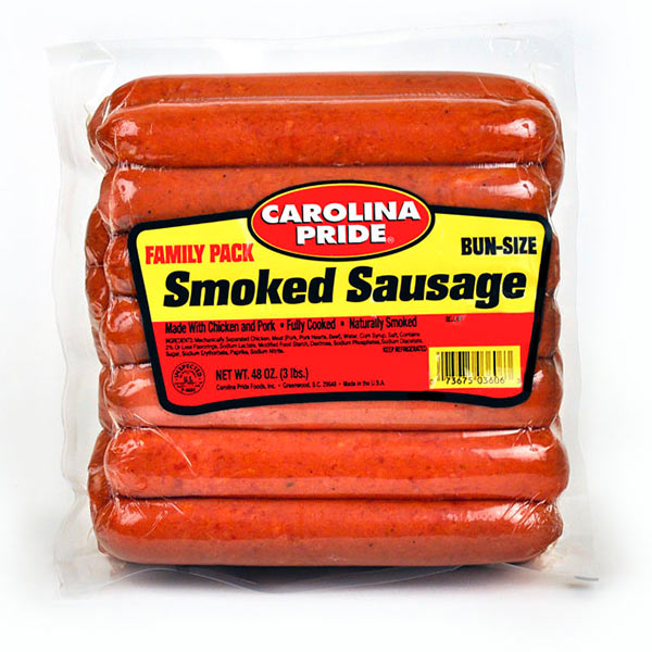 Family Pack Smoked Sausage – 3606