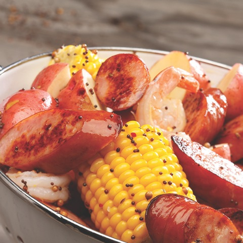 Sausage and Shrimp Boil