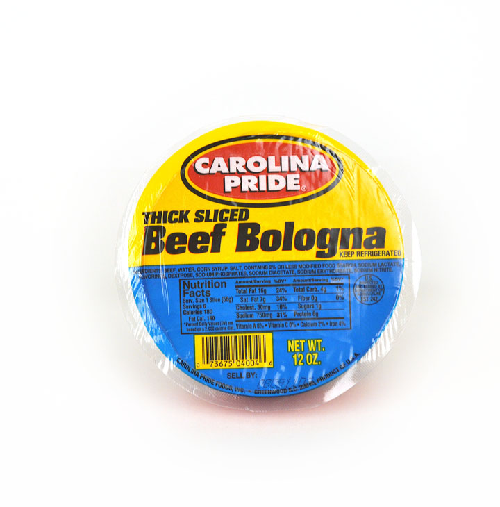 Thick Beef Bologna – 4004