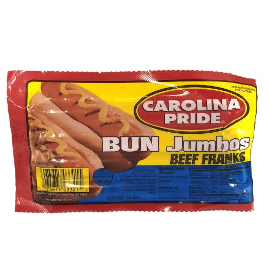 Bun Size Beef Jumbo Franks – 3321