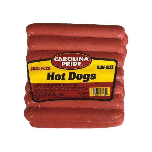 Grill Pack Hot Dogs – 3505