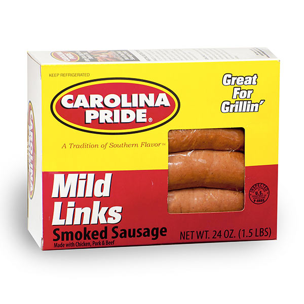 Mild Box Smoked Sausage – 3626