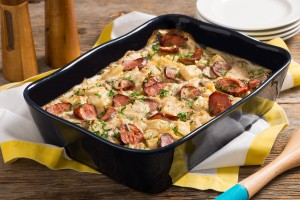 Sausage and Potato Bake