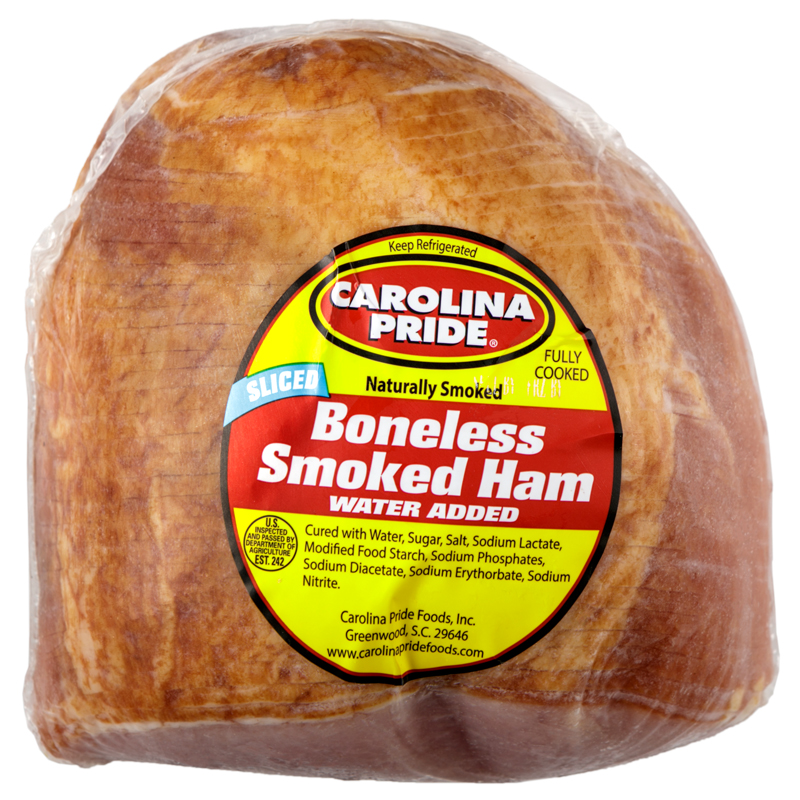 Premium Sliced Boneless Smoked Ham Half – 2364