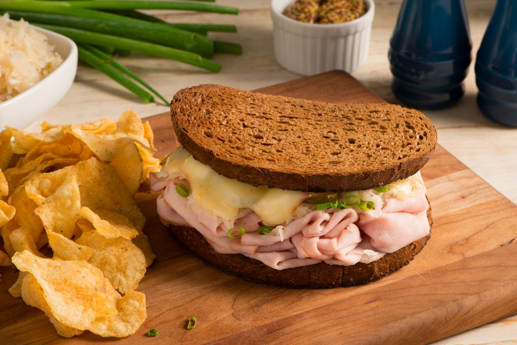 Hot German Ham Sandwich