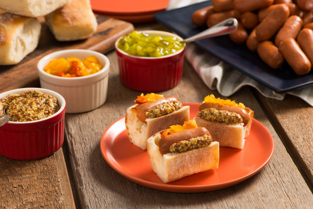 Itty-Bitty Spicy Dogs