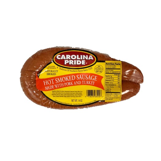 Hot Rope Smoked Sausage – 3512